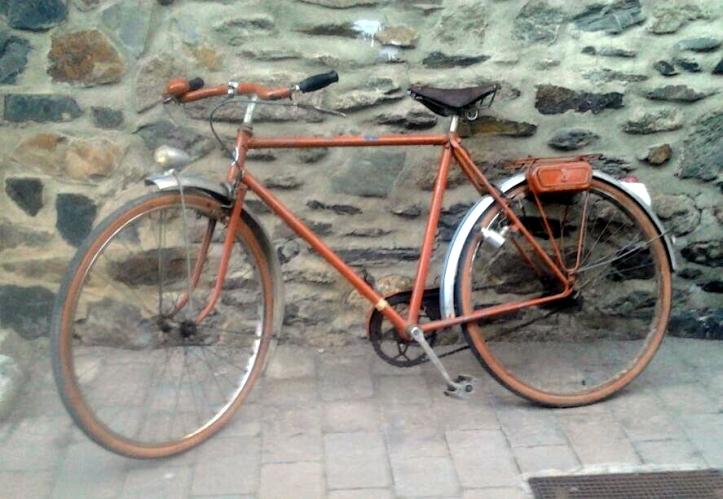 Alphonse Thomann, pintamos bicicletas clásicas 4, recién sacada de un antiquario