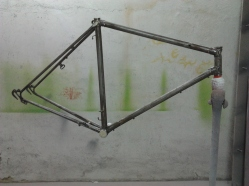 Alphonse Thomann, pintamos bicicletas clásicas 7, hierro al desnudo